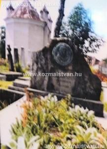Hollósy Simon, nagybányai festőművész síremléke